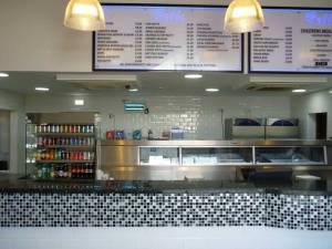 Takeaway chip shop